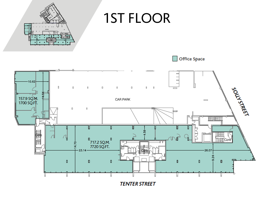 Floor Plans For No 1 Velocity Village Sheffield