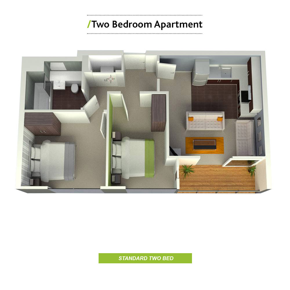 Student apartments to rent velocity village sheffield for Apartment plans book